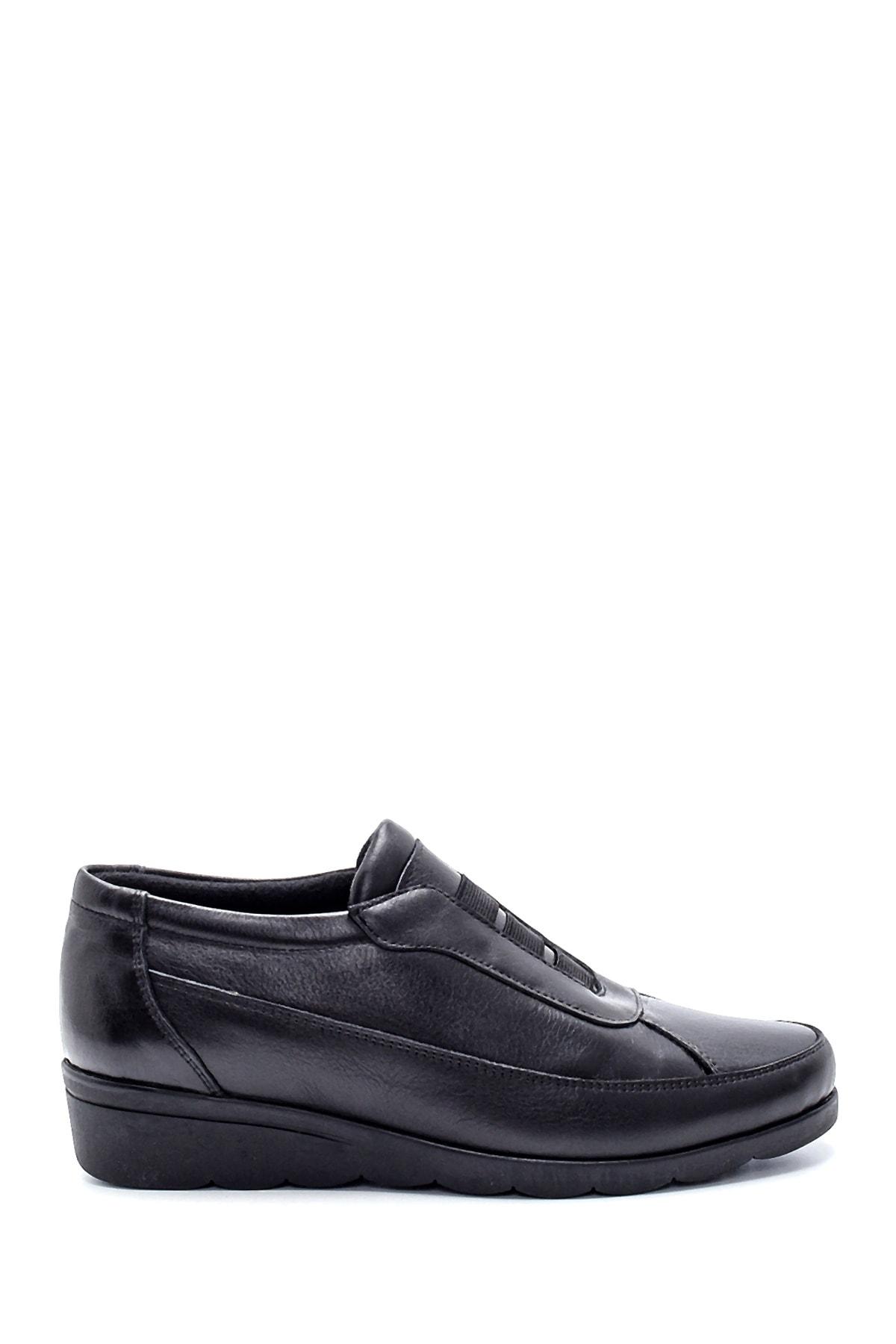 Derimod Kadın Siyah Deri Ayakkabı