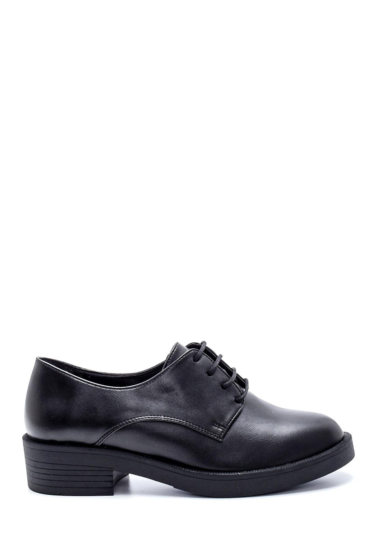 Derimod Kadın Siyah Maskülen Ayakkabı