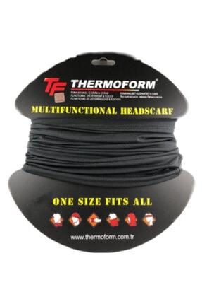 Thermoform Army Microfiber Boyunluk Siyah 0