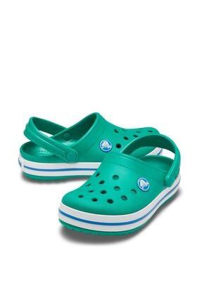 Crocs Unisex Çocuk Yeşil Spor Sandalet 1