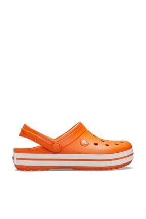 Crocs Unisex Çocuk Turuncu Spor Sandalet 0