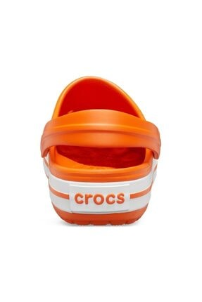 Crocs Unisex Çocuk Turuncu Spor Sandalet 3