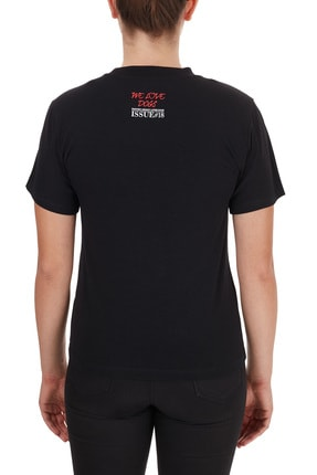 Emporio Armani Kadın Siyah T-Shirt 1