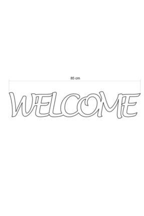 Linacci Siyah Welcome Duvar Yazısı 3