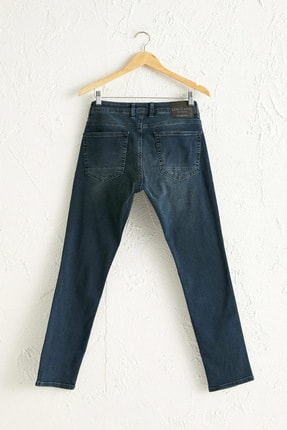 LC Waikiki Erkek Koyu Rodeo Slım Fit Jeans 0WDG97Z8 2