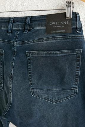 LC Waikiki Erkek Koyu Rodeo Slım Fit Jeans 0WDG97Z8 3