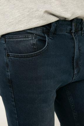 LC Waikiki Erkek Koyu Rodeo Slım Fit Jeans 0WDG97Z8 4