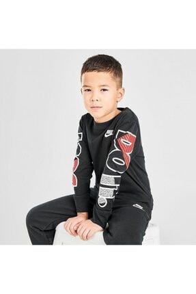 Nike Çocuk Gri Jorden Jdı Fly Ls Tee Uzun Kollu Tişört 86G978-023 0