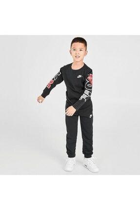 Nike Çocuk Gri Jorden Jdı Fly Ls Tee Uzun Kollu Tişört 86G978-023 1