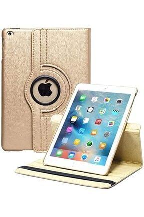 MOBAX Gold Apple Ipad Air 2 Dönebilen Standlı Case Kılıf  A1566 A1567 1