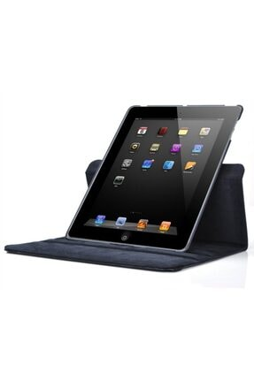 MOBAX Siyah Apple Ipad 6 Nesil 9.7 2018 Dönebilen Standlı Case Kılıf A1893 A1954 2