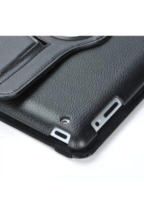 MOBAX Siyah Apple Ipad 6 Nesil 9.7 2018 Dönebilen Standlı Case Kılıf A1893 A1954 3