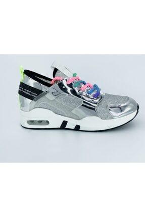 Guja Kadın Gümüş Spor Ayakkabı 18y 336-1 1