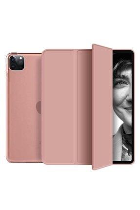 MOBAX Rose Gold Ipad Pro 11 2.Nesil 2020 Pu Deri Smart Case Kılıf  A2228 A2068 A2230 A2231 0