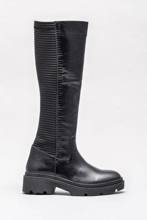 Elle Kadın Sheren Sıyah Çizme 20KTO18718 1
