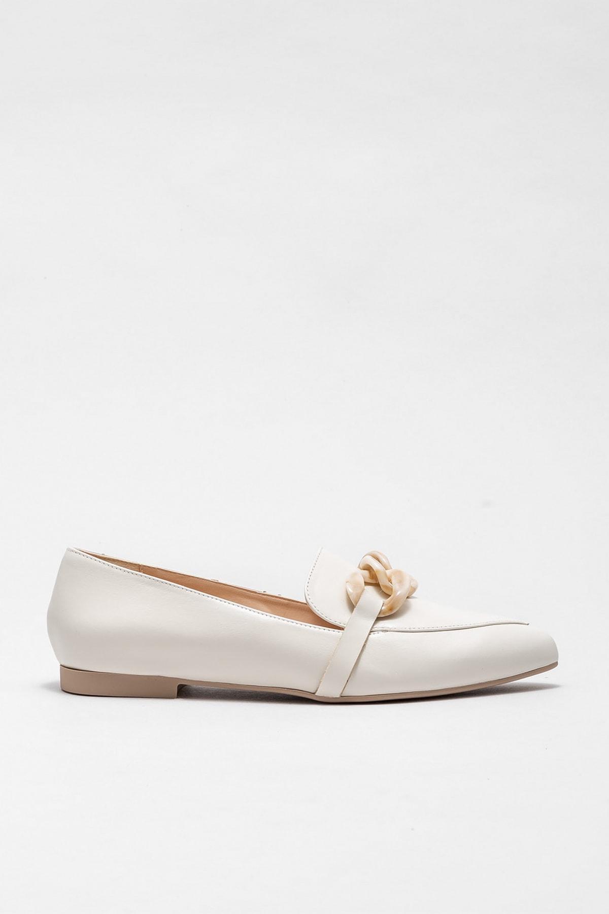 Elle Kadın Chalsea Bej Casual Ayakkabı 20KDS50237
