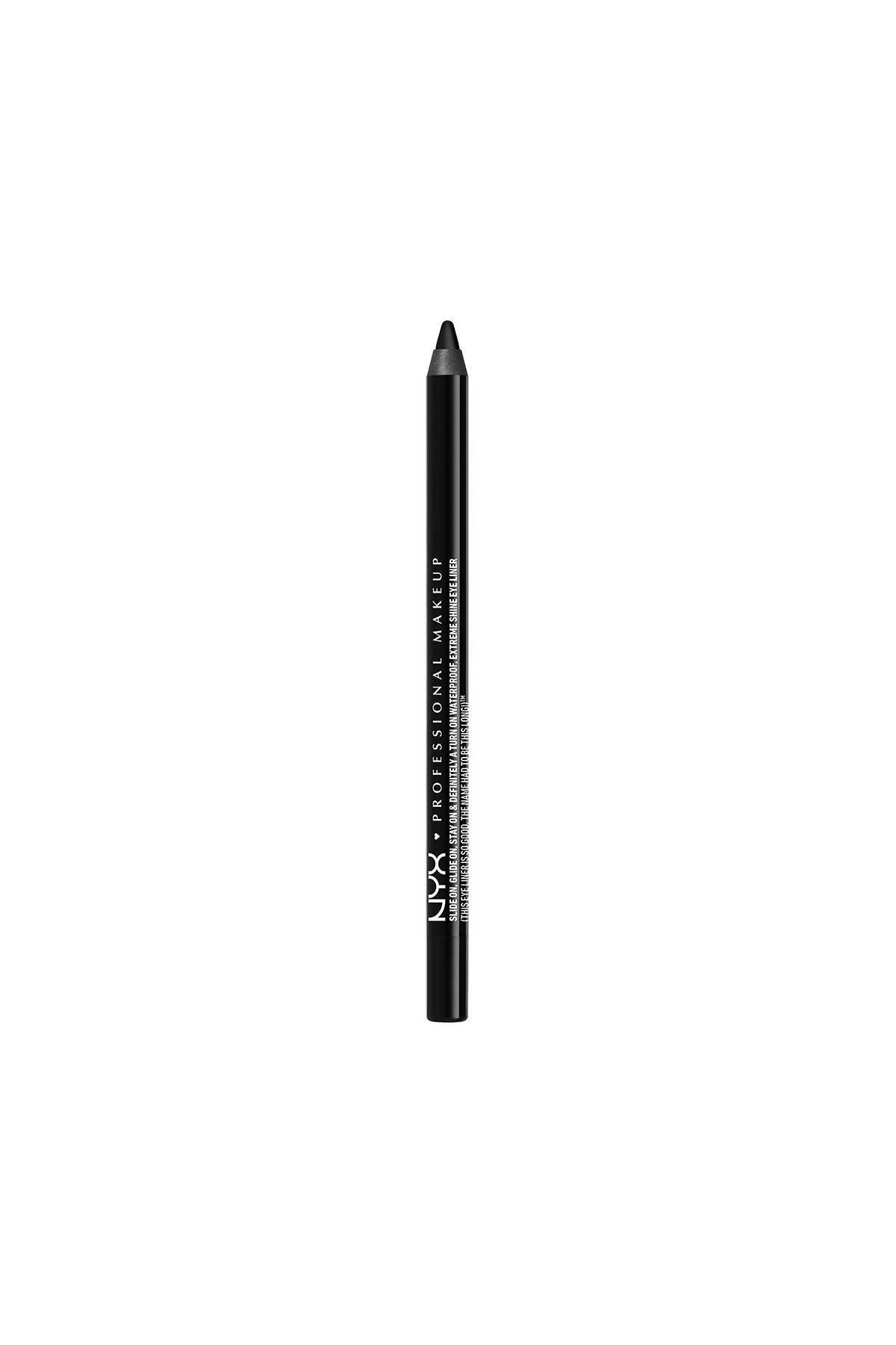 NYX Professional Makeup Siyah Göz Kalemi - Slide on Eye Pencil Jet Black 6 g 800897141226