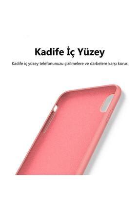 KZY İletişim Huawei Mate 10 Lite Içi Kadife Soft Logosuz Lansman Silikon Kılıf - Pembe 1