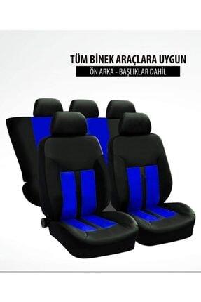 TUNINGMONSTER Hon Spor Şeritli Arka Kılıf Dahil Oto Koltuk Kılıfı Set Numaramatik Parktel Hediye 4