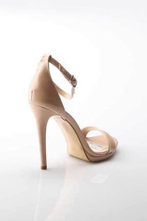 Modabuymus Kadın Ten Hakiki Deri Ayakkabı 1