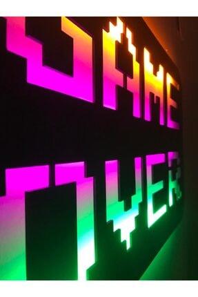 dekoraven Game Over Led Işıklı Tablo 3
