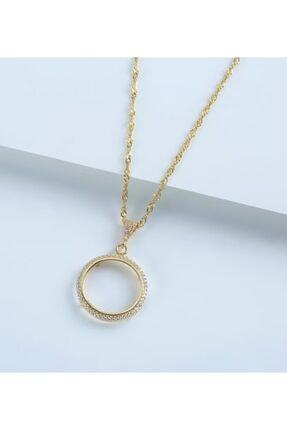 Gümüşistan 925 Ayar Gümüş Çeyrek Altın Kolye 2