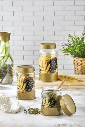 Pazarika Altın Yaprak Model Mutfak Seti 0
