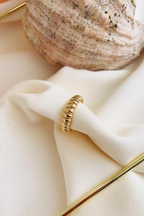 MaidCo Accessories Kadın Gold Burgu Dokulu Kıkırdak Küpe Kp1060 1