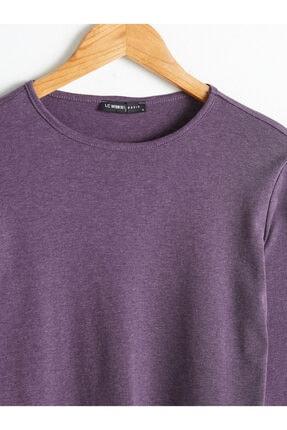 LC Waikiki Kadın Mor  T-Shirt 2