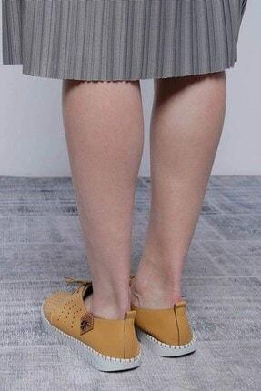 Mossta Kadın Sarı Ayakkabı 1