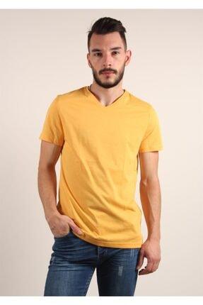 Mckanzie Erkek Sarı Basıc T-shirt 1
