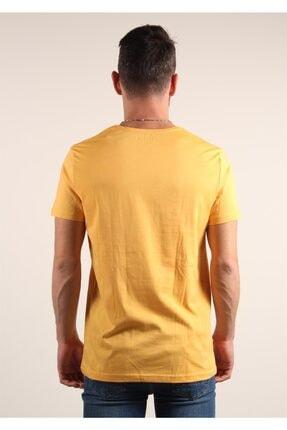 Mckanzie Erkek Sarı Basıc T-shirt 2