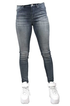 George Kadın Gri Chloe Mid Rise Skinny Jean 3