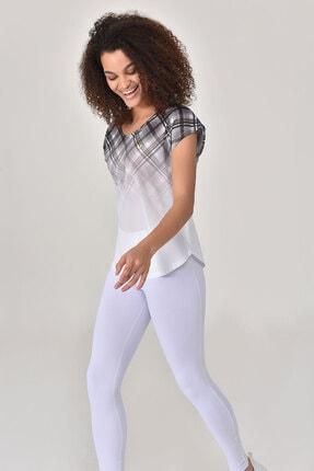 bilcee Beyaz Kadın T-shirt  GS-8032 2