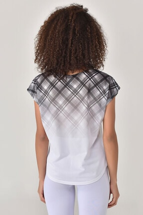 bilcee Beyaz Kadın T-shirt  GS-8032 3