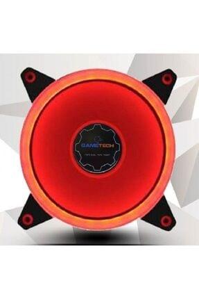 GAMETECH Kırmızı 1200rpm 12cm Led Fan 0