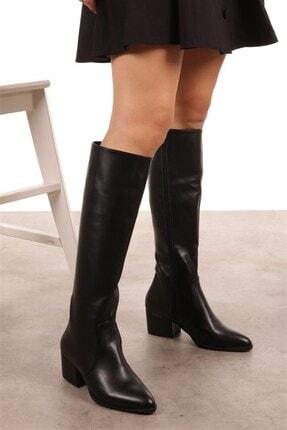 Mio Gusto Kadın Lidya Siyah Çizme 1