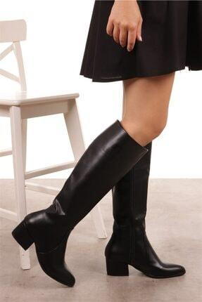 Mio Gusto Kadın Lidya Siyah Çizme 2