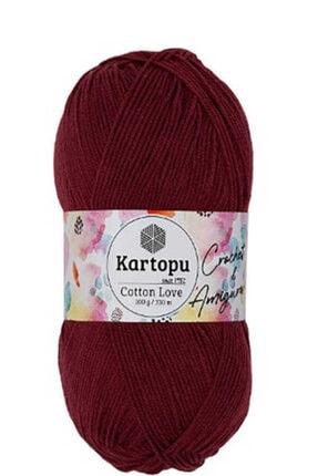 Kartopu Cotton Love K104 Marsala 0