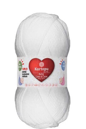Kartopu Baby Love&care K010 Beyaz 0