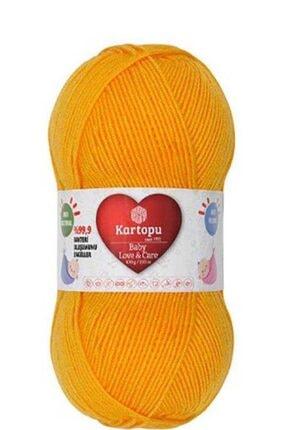 Kartopu Baby Love&care K154 Koyu Sarı 0