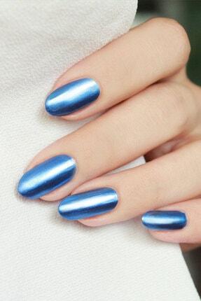 Mara Parlament Mavisi Metalik Oje Ayna Efektli 2