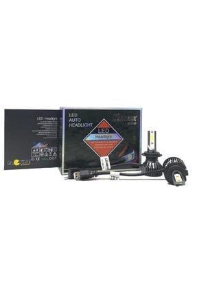 LEDMAX H7 Mini/slim Şimşek Led Xenon Far Ampul 8000lm 6500k Beyaz Renk, Fan Soğutuculu 1