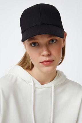 Happiness İst. Kadın Siyah Unisex Baseball Cap Şapka PD00017 1