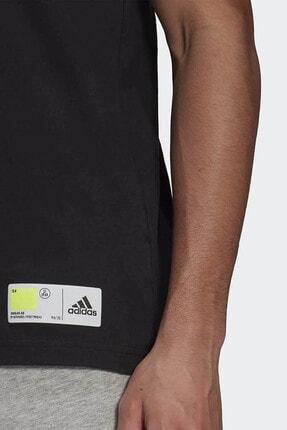 adidas Erkek Siyah Günlük T-shirt 4