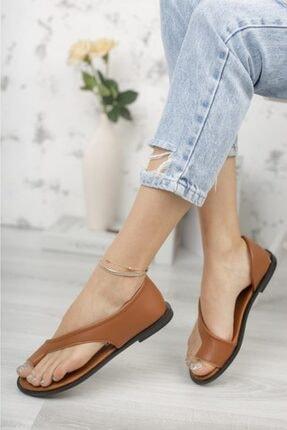 Moda Frato Pwr-33 Parmak Arası Kadın Ayakkabı Sandalet 1