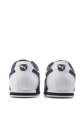 Puma ROMA BASIC Beyaz Lacivert Erkek Sneaker 100126098 3