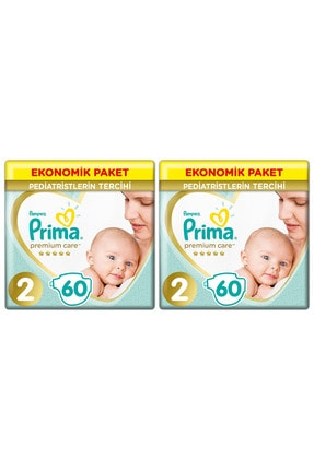 Prima Bebek Bezi Premium Care 2 Beden 120 Adet Mini Jumbo Paket 0