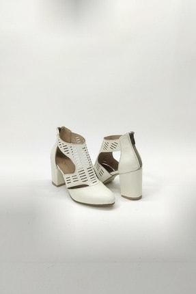 Kalın Topuklu Gladyatör Ayakkabı hytta135