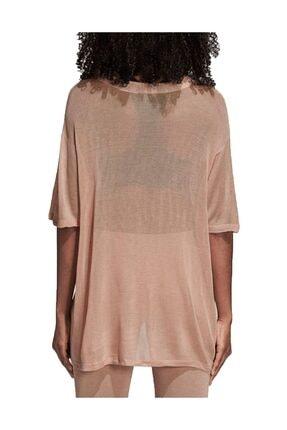 adidas Kadın T-shirt - Big Trefoil Tee - CY5845 2